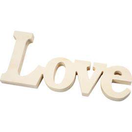 houten woord love hout
