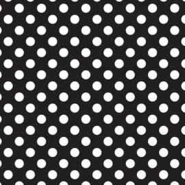 Camelot Fabrics Black Dots