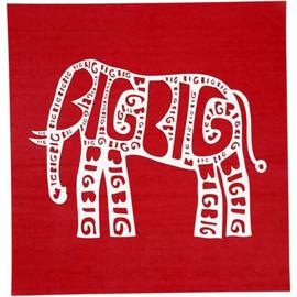 screen stencil olifant