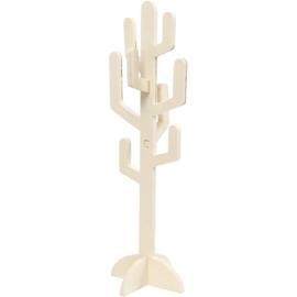 Houten Cactus 38 cm