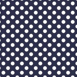 Camelot Fabrics Navy Dots