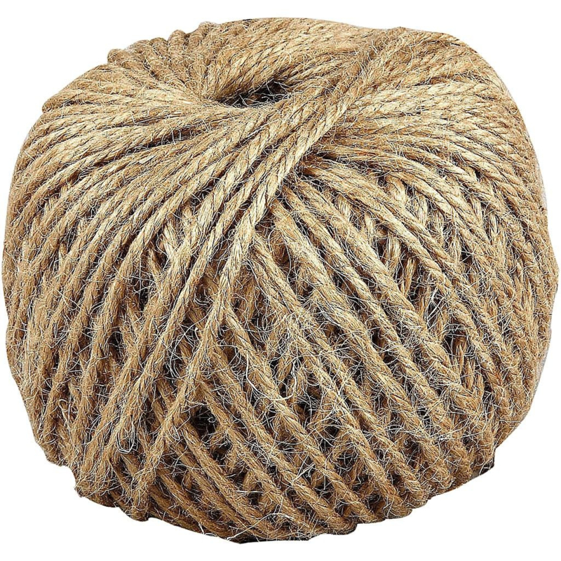 Hennep touw, 3 mm