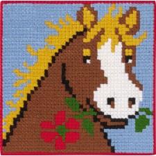 borduurpakket paard
