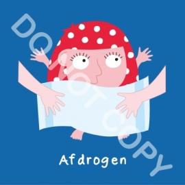 Afdrogen Mia (A)