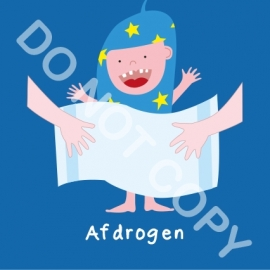 Afdrogen Mighty (A)