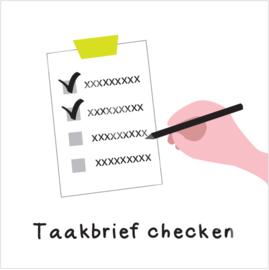 Taakbrief checken (S)