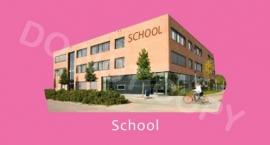 School - M