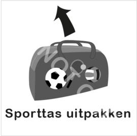 ZW/W - Sporttas uitpakken