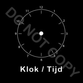 ZW/W - Klok/Tijd - Nacht