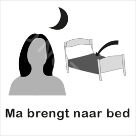 ZW/W - Ma brengt naar bed