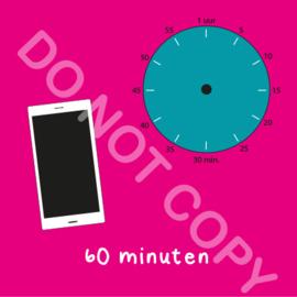 Mobiel tijden 60 min (BT) - R