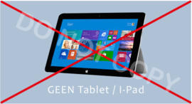 GEEN Tablet/I-Pad - J/TV
