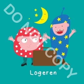 Logeren (act.)