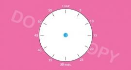 Tijdsduur/Klok S&W - M