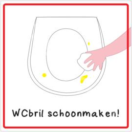 WCbril schoonmaken! (HR)