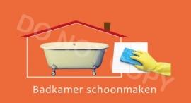 Badkamer schoonmaken - T/V