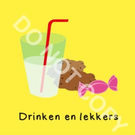 Drinken en lekkers (O)