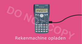 Rekenmachine opladen S&W - M