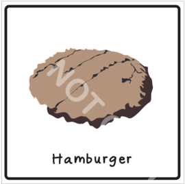 Vlees - Hamburger