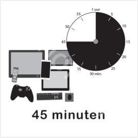 ZW/W - Beeldschermtijd 45 min.