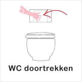 BASIC - WC doortrekken