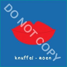 Knuffel - zoen (A)