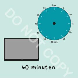Tablet/I-Pad tijden 60 min (BT) - M