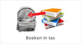 Boeken in tas J - STV