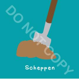 Scheppen (act.)