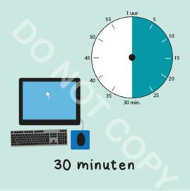 Computer tijden 30 min (BT) - M