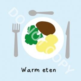 Warm eten (M)