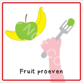 Fruit proeven! (HR)