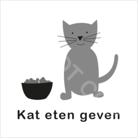 ZW/W - Kat eten geven