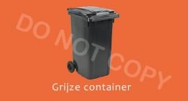 Grijze container - T/V