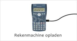 Rekenmachine opladen - J