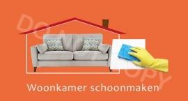 Woonkamer schoonmaken - T/V