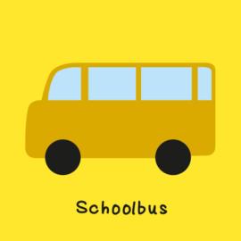 Met de schoolbus (O)