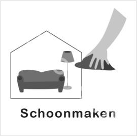 ZW/W - Woonkamer schoonmaken