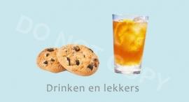 Drinken en lekkers - J