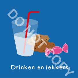 Drinken en lekkers (A)