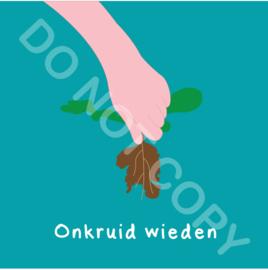 Onkruid wieden (act.)