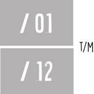 7X 01 t/m 12 - Maanden v/h jaar NR3