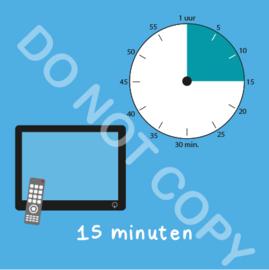 TV kijken 15 min (BT) - T