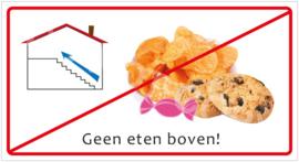 Geen eten boven! (HR) T/V