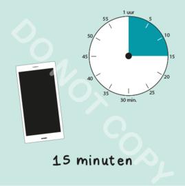 Mobiel tijden 15 min (BT) - M