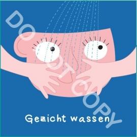 Gezicht wassen Mia (A)