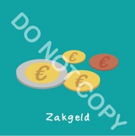 Zakgeld (act.)