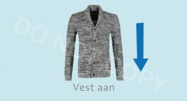 Vest aan - J