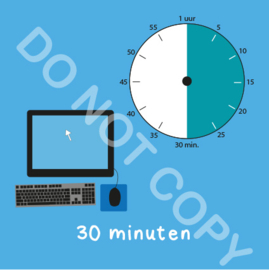 Computer tijden 30 min (BT) - T