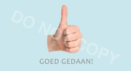 GOED GEDAAN -DL - J